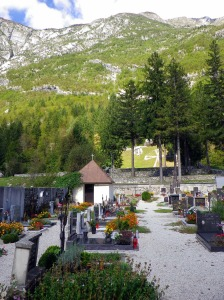 cemetry in the Soca valley