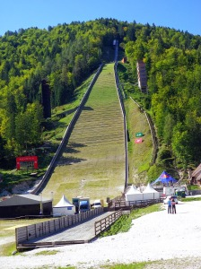 biggest ski jump (flight) in the world
