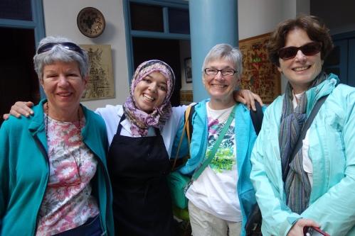 Marge, Mirym, Susan, EAP