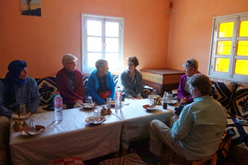 at the Berber table