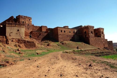 the kasbah Glaoui, Telouet