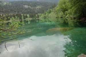 blue-green water