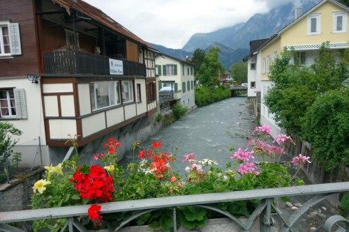 geraiums, stream and other mountain, Bad Ragatz