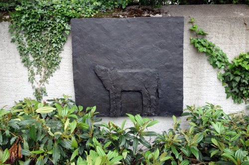 cow in Bad Ragatz
