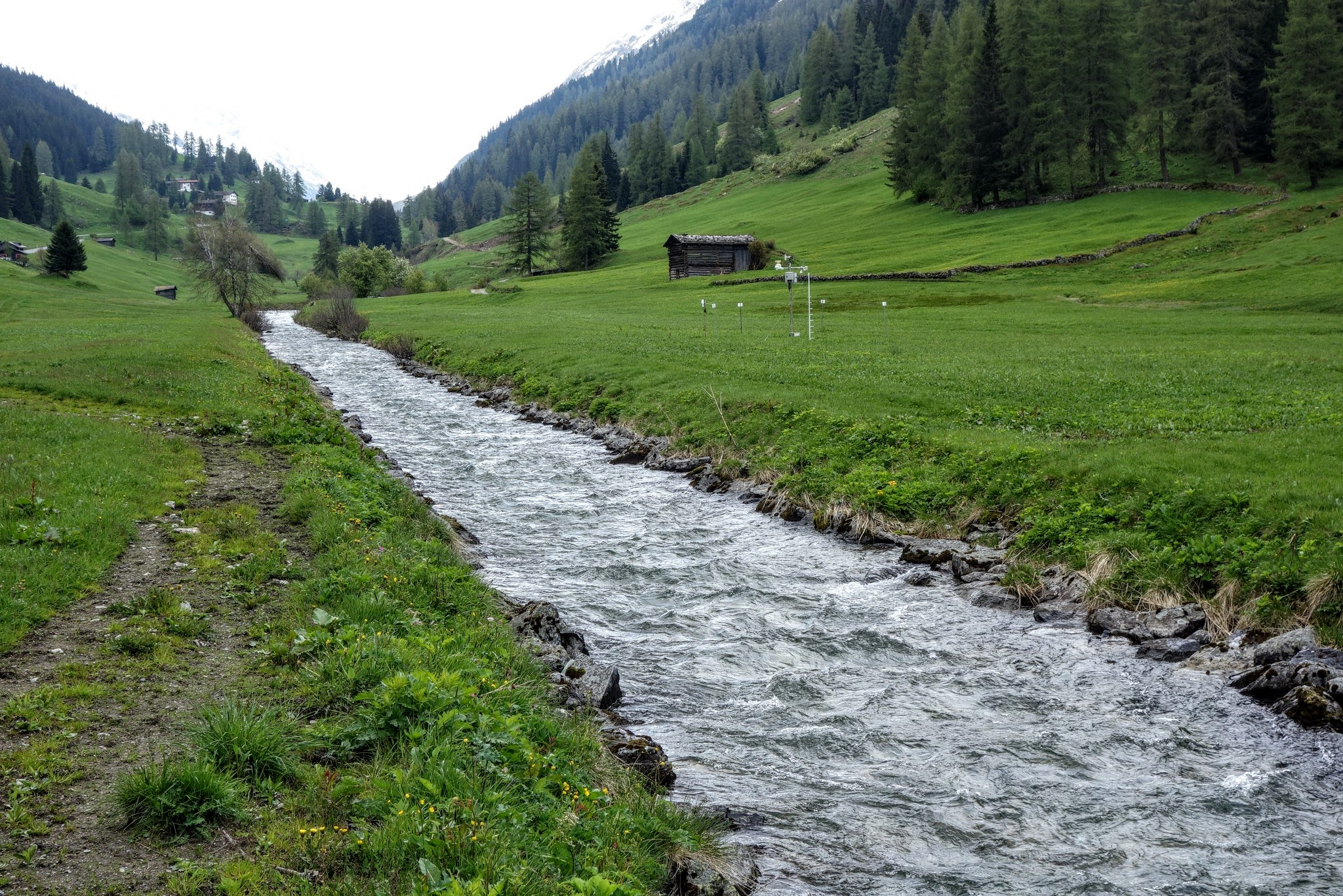 the middle valley of Davos