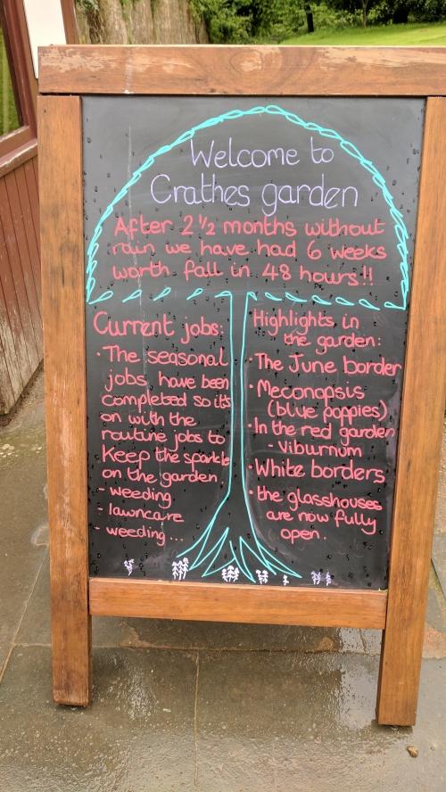 crathes garden