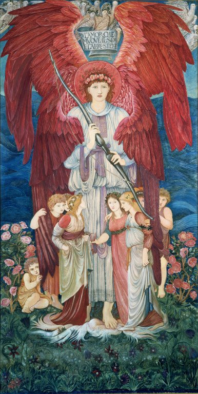 burne-jones embroidery
